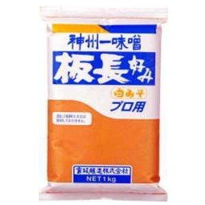 板長好み 白みそ 1kg /宮坂醸造(2袋)