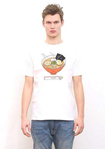 (グラニフ) graniph ベーシックTシャツ/ラーメンクン (ホワイト) S