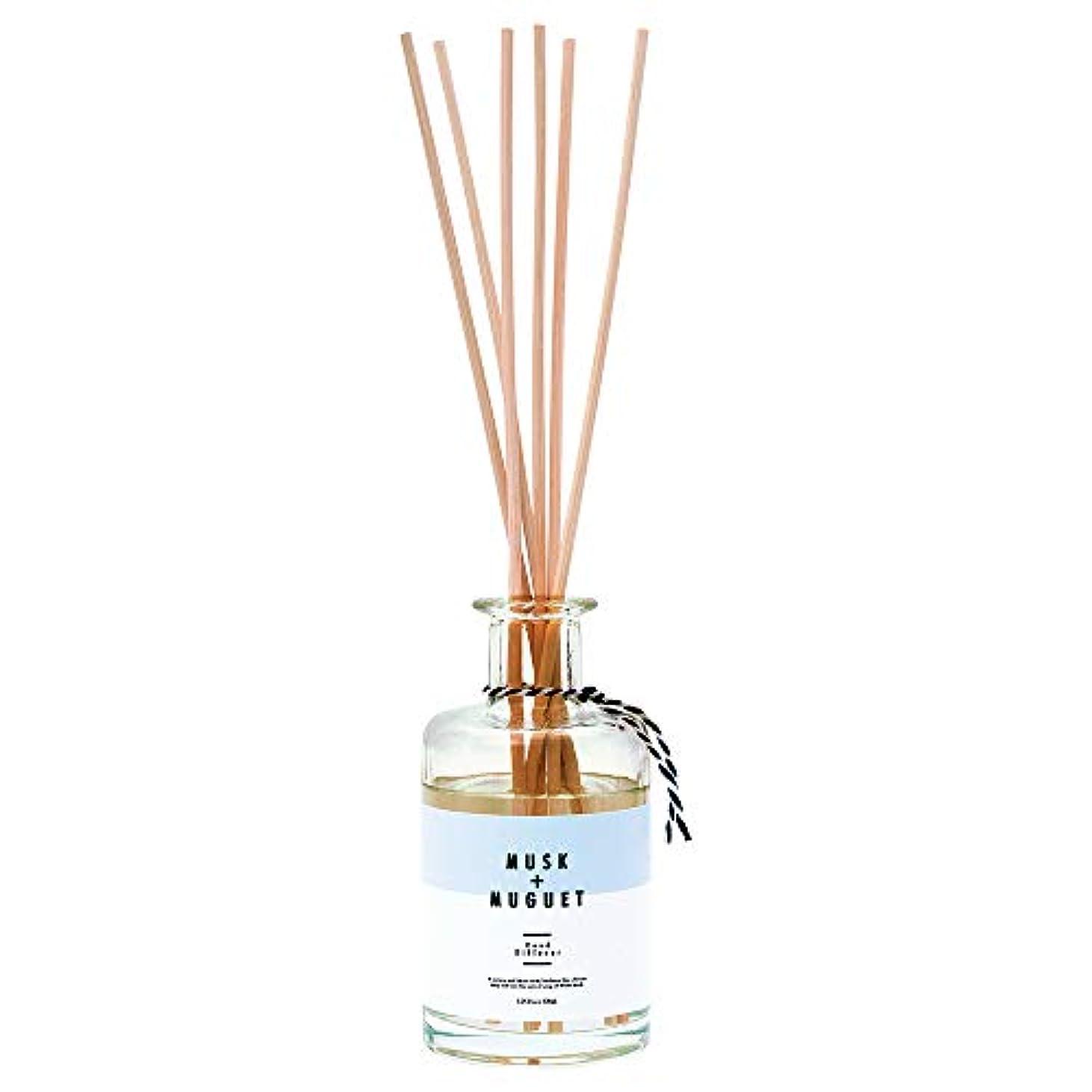 アデレードあいさつ段落ノルコーポレーション リードディフューザー ホワイトムスク&ミュゲの香り 170ml