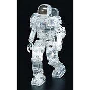 WAVE スケールロボット 1/12 ホンダ・ヒューマノイドロボット P3 クリアバージョン SR04