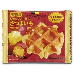 ローゼン マネケン 発酵バター香るさつまいもワッフル 12(6×2)個入×(2ケース)