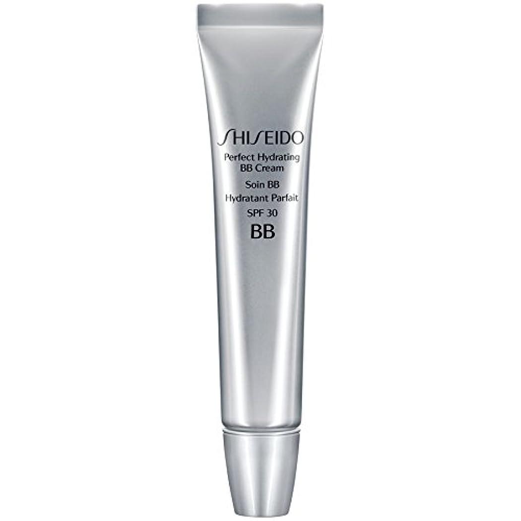 刺繍間欠ハンディ[Shiseido ] 資生堂完璧な水和BbクリームSpf 30 30ミリリットル媒体 - Shiseido Perfect Hydrating BB Cream SPF 30 30ml Medium [並行輸入品]