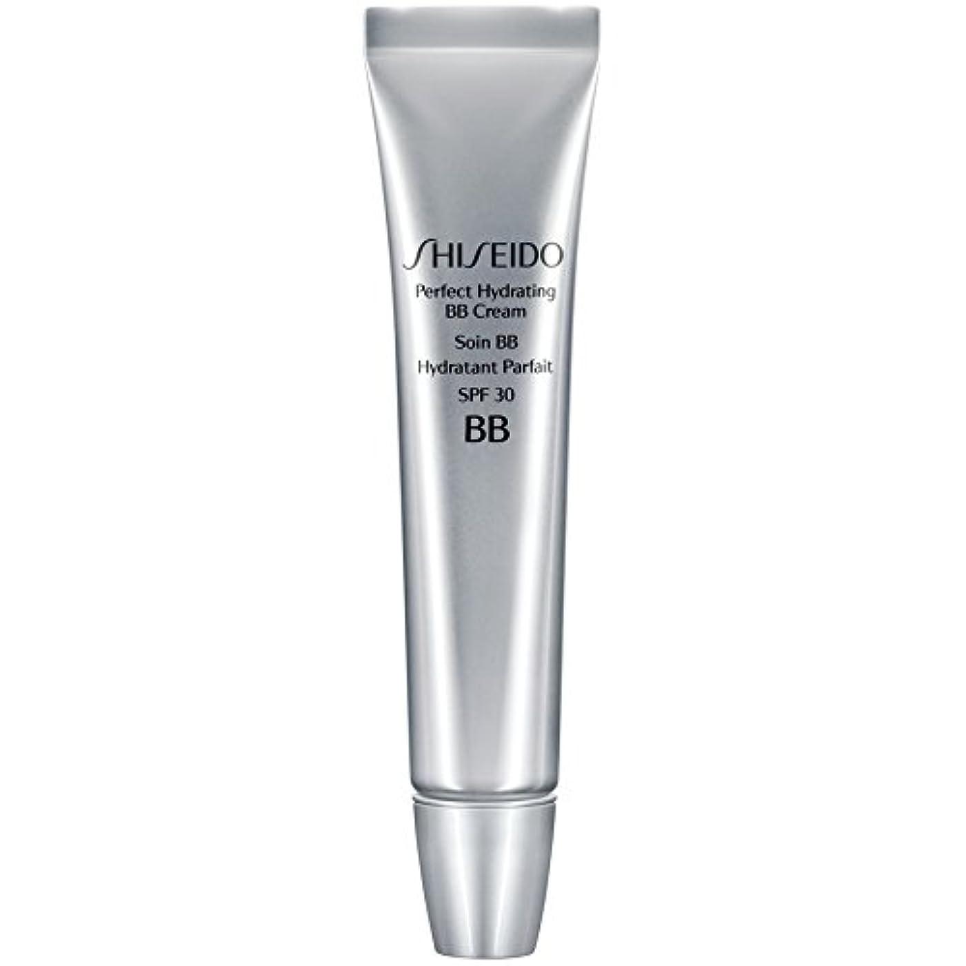 さびたスラム終点[Shiseido ] 資生堂完璧な水和BbクリームSpf 30 30ミリリットル媒体 - Shiseido Perfect Hydrating BB Cream SPF 30 30ml Medium [並行輸入品]