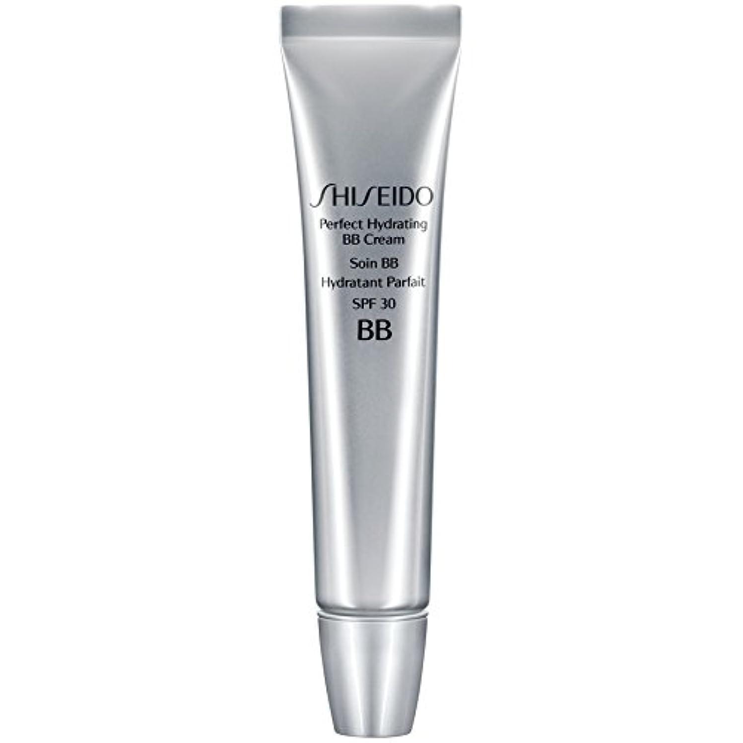 かもめ常習的粘着性[Shiseido ] 資生堂完璧な水和BbクリームSpf 30 30ミリリットル媒体 - Shiseido Perfect Hydrating BB Cream SPF 30 30ml Medium [並行輸入品]