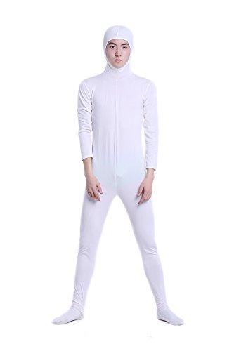 全身タイツ コスチューム 白色 メンズ Lサイズ