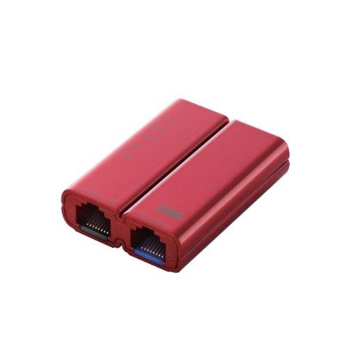 エレコム WiFiルーター 無線LAN ポータブル 300Mbps ACアダプタ付属 WRH-300RD