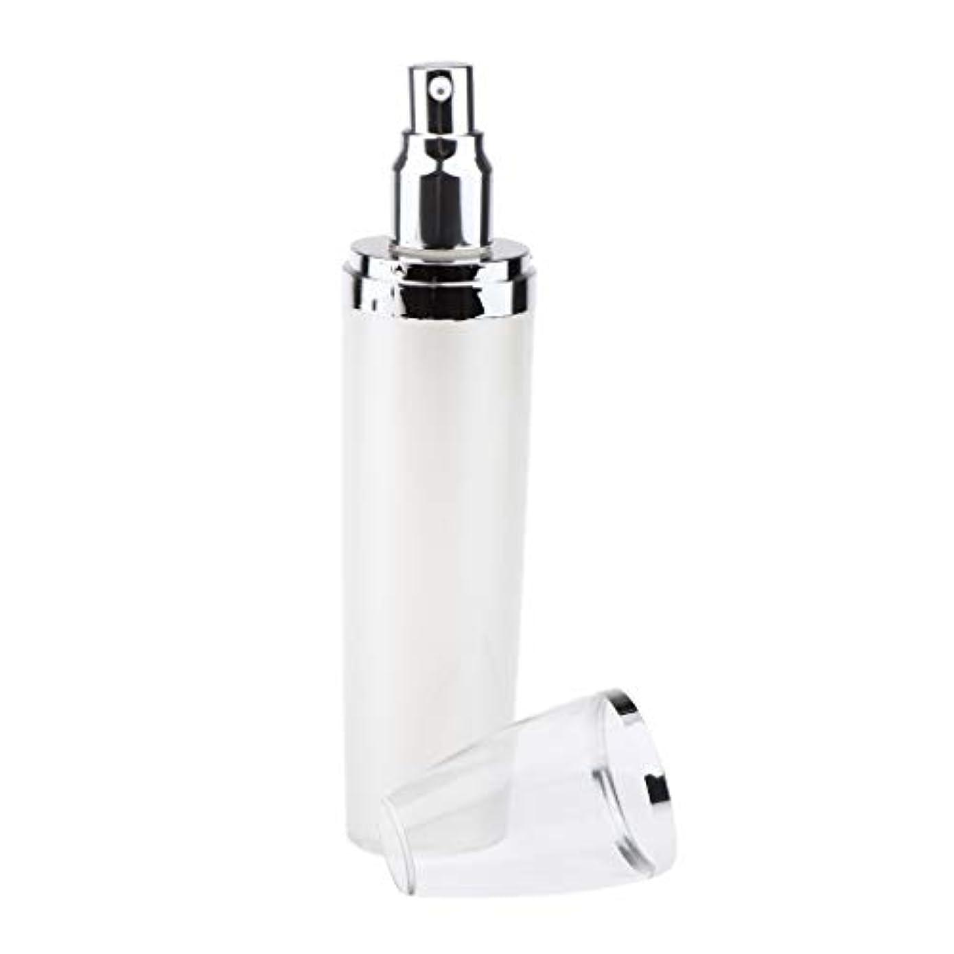 自宅でハンバーガーループPerfeclan 詰替え容器 ポンプボトル 空 化粧品ボトル ディスペンサーボトル 漏れ防止 全4サイズ - 100ミリリットル