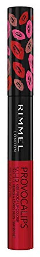 牛肉空白アサートRIMMEL LONDON Provocalips 16Hr Kissproof Lip Colour - Play With Fire (並行輸入品)