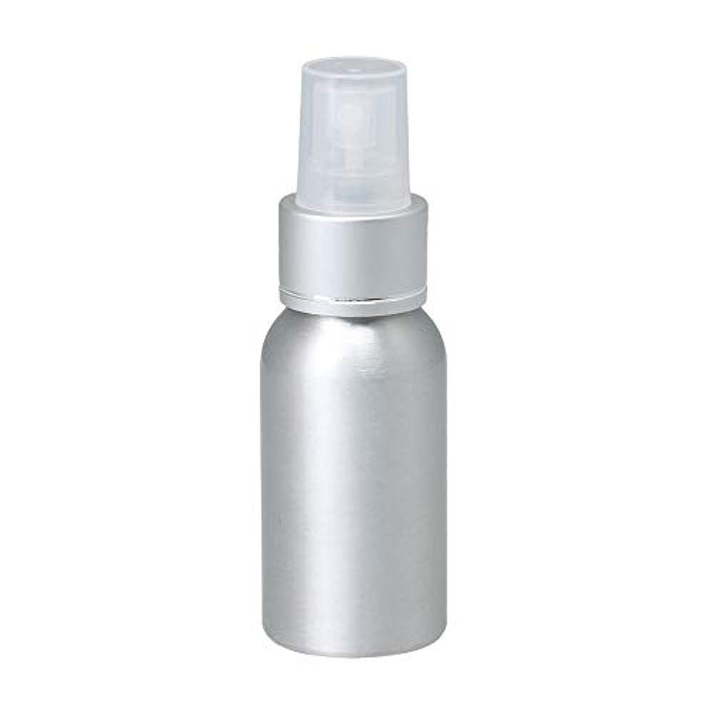 ミネラル味失望50ml アルミ スプレーボトル 噴霧器 美容ボトル 小分け容器 化粧水 漏れ防止 女性用 香水ボトル 0.1-0.15 ml/t クリアノズル