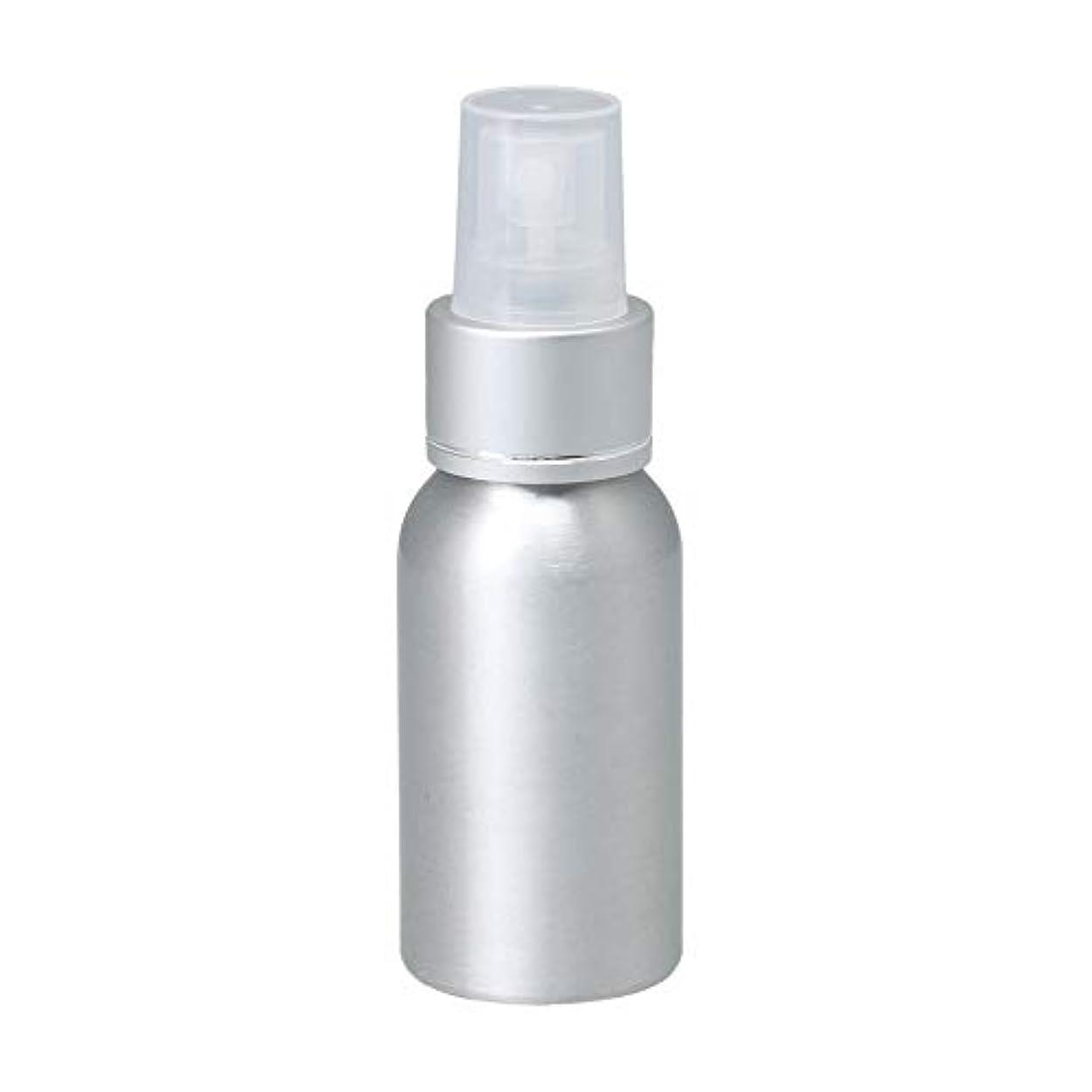品揃え廃止する慣性50ml アルミ スプレーボトル 噴霧器 美容ボトル 小分け容器 化粧水 漏れ防止 女性用 香水ボトル 0.1-0.15 ml/t クリアノズル