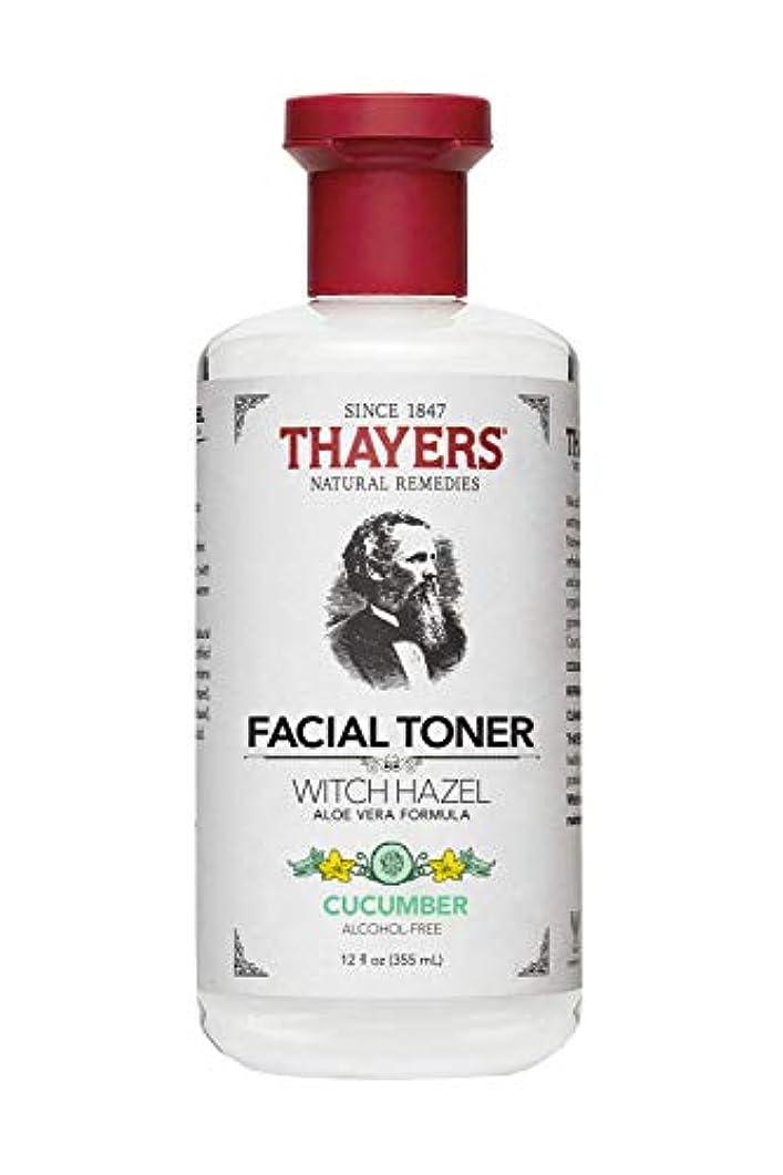 飛び込むスツール無視Thayers? Cucumber Witch Hazel Astringent with Organic Aloe Vera 355ml