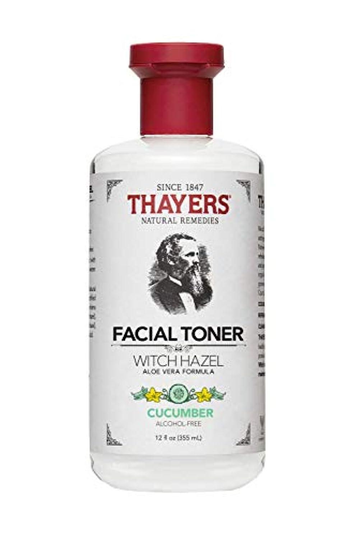 閃光伴う女優Thayers? Cucumber Witch Hazel Astringent with Organic Aloe Vera 355ml