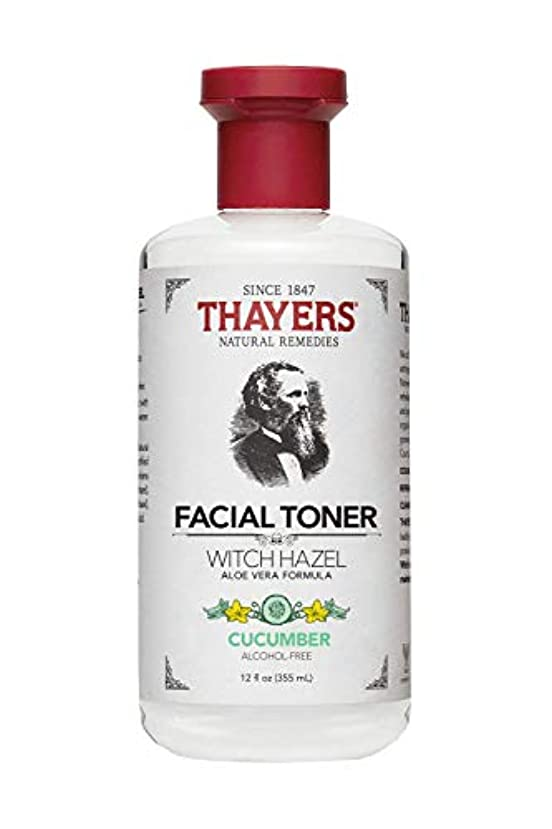 よろしく地殻財産Thayers? Cucumber Witch Hazel Astringent with Organic Aloe Vera 355ml