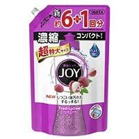 "【P&G】ジョイコンパクト フレッシュライチの香り つめかえ用 超特大 1065ml (約7回分) ""旧品"" ×8個セット"
