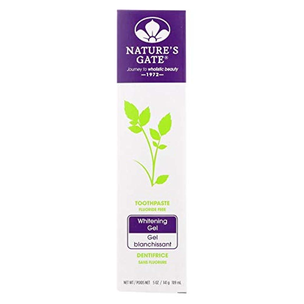 海外直送品Nature's Gate Dental Therapy Whitening Gel, 5 Oz (Pack of 6)