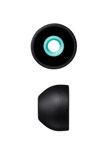 ソニー SONY ハイブリッドイヤーピース EP-EX11L : Lサイズ 4個入り ブラック EP-EX11L B