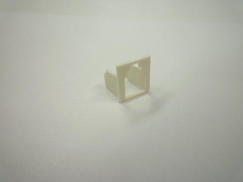 スカイニー モジュラージャック変換アダプター(スペーサー)6極n芯→4極4芯サイズに変換 10個入り MJS-6T4