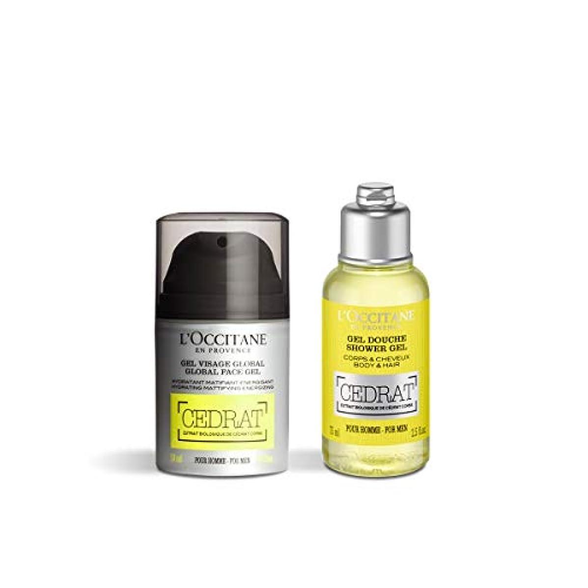 ロクシタン(L'OCCITANE) セドラ リフレッシュキット(ボディ用洗浄料 75ml+洗顔料 50ml)