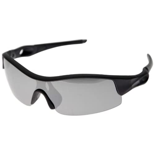 VAXPOT(バックスポット) サングラス 偏光レンズ BLACK【LENS:SILVER MIRROR】 EG-3990