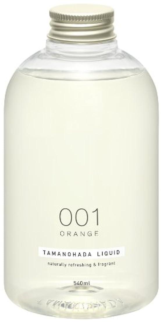 味現実アグネスグレイタマノハダ リクイッド 001 オレンジ 540ml