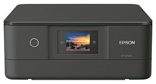 EPSON プリンター インクジェット複合機 カラリオ EP-879AB ブラック (6色)