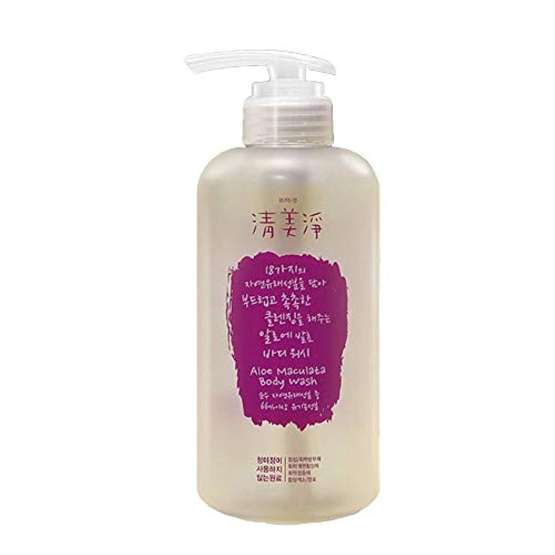 トラブル許容できるルーム[ChungMiJung] 清美浄(チョンミジョン) アロエ発酵ボディウォッシュ 500ml Aloe Maculata Body Wash - Organic Body Wash with 18 Ingredients...