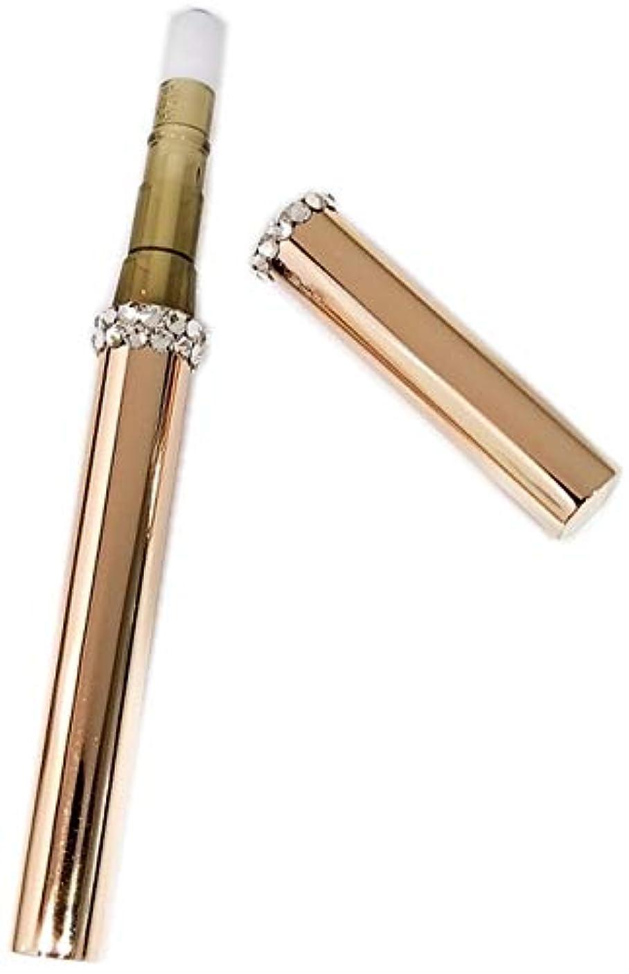 ターゲットカナダ裁定アトマイザー ロールオン スワロフスキー 『C-line』 香水 詰め替え スティックアトマイザー (ピンクゴールド ) スワロフスキー クリスタル 携帯 遮光 [F]
