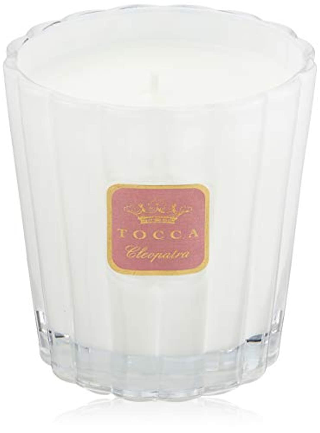 局教育するフェザートッカ(TOCCA) キャンドル クレオパトラの香り 約287g (ろうそく フレッシュでクリーンな香り)