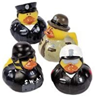 12 Law Enforcement Rubber Ducks by Rubber Ducks [並行輸入品]