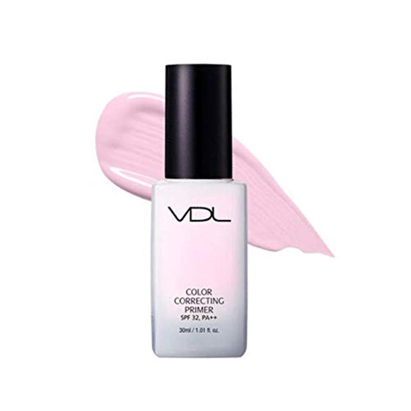 珍しい盟主指紋VDLカラーコレクティンプライマー30ml 3カラーメイクアップベース、VDL Color Correcting Primer 30ml 3-Colors Make-up Base [並行輸入品] (Lavender)