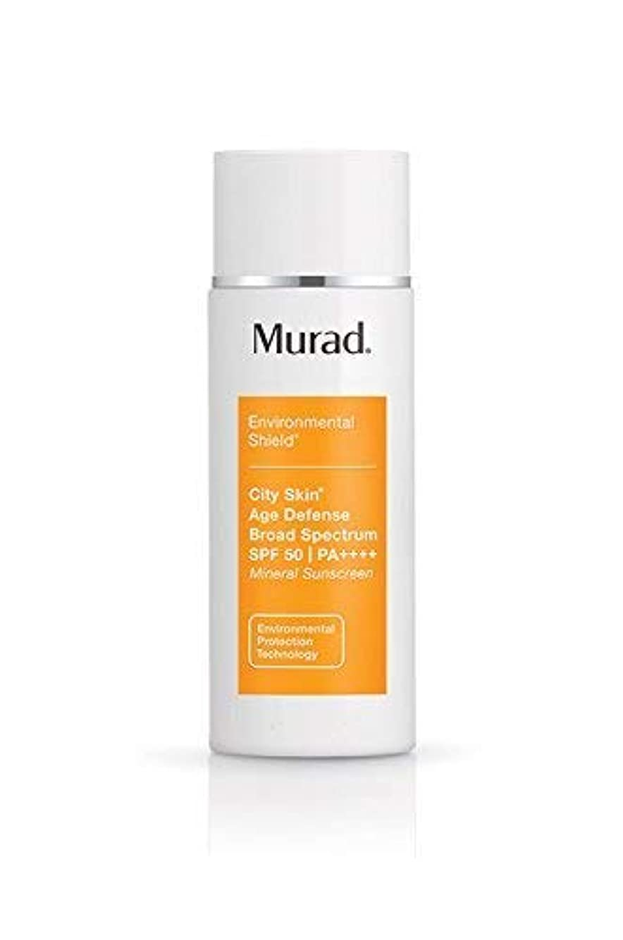 無謀アミューズ肥満Murad City Skin Age Defense Broad Spectrum SPF 50 | PA++++ 50ml