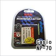 カシオ(CASIO) NP-70 デジカメ用互換バッテリー(...