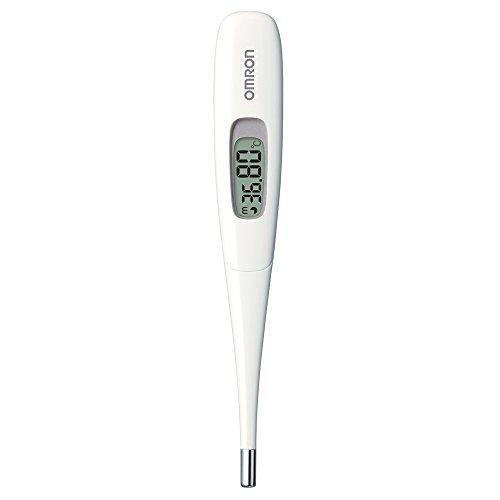 オムロン 婦人用電子体温計 10秒予測 ホワイト MC-683L-W