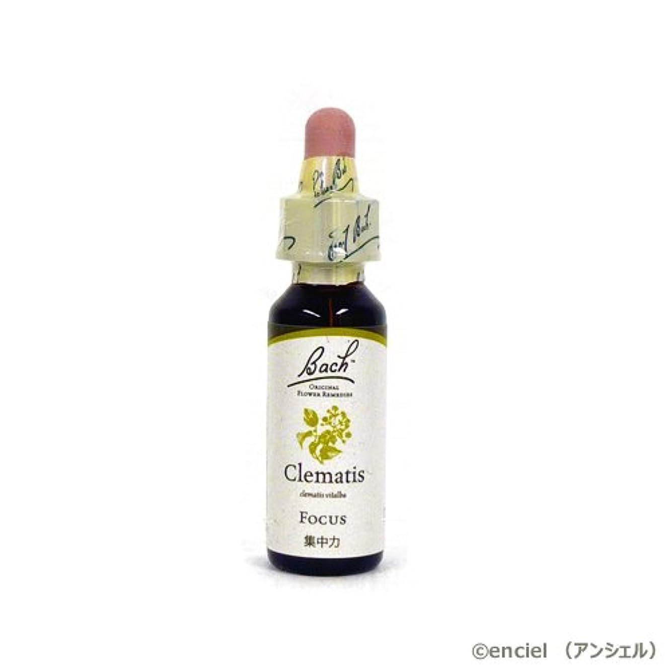 乱雑な消毒する酸度バッチフラワー レメディ クレマチス 10ml グリセリンタイプ 日本国内正規品