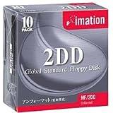 imation イメーション 3.5型 2DD フロッピーディスク 10枚 MF2DD10PS