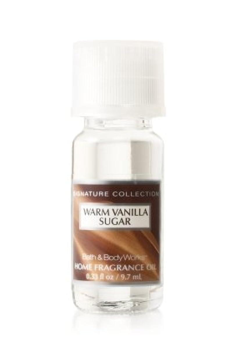 ブロックする誘惑する家具バス&ボディワークス ウォームバニラシュガー ホームフレグランスオイル 1本 Warm Vanilla Sugar Home Fragrance Oil