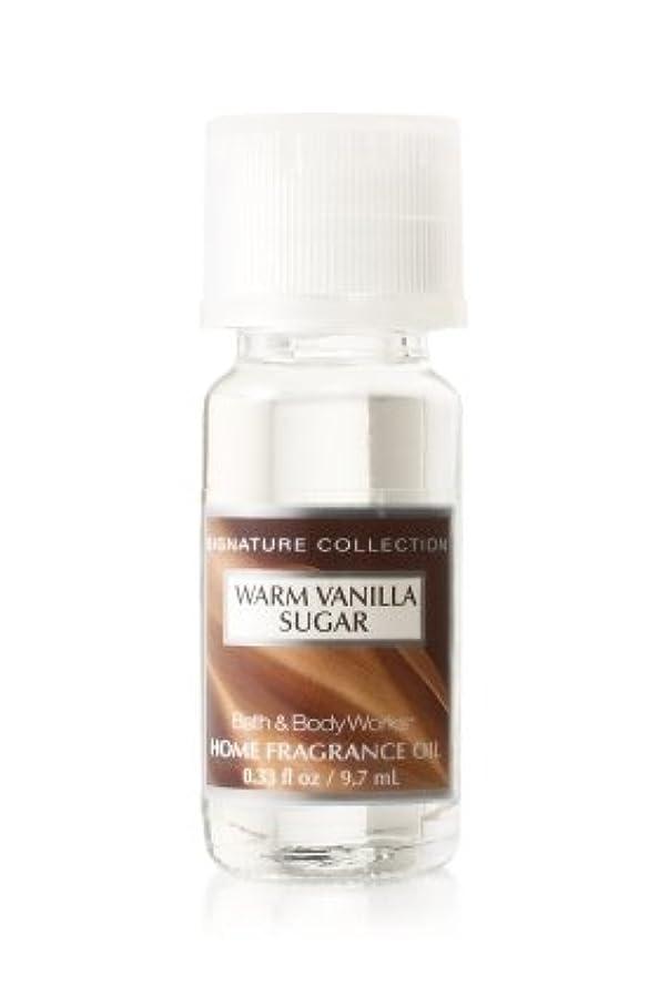 名詞戦略主人バス&ボディワークス ウォームバニラシュガー ホームフレグランスオイル 1本 Warm Vanilla Sugar Home Fragrance Oil