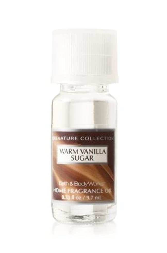 一族エンドウ不器用バス&ボディワークス ウォームバニラシュガー ホームフレグランスオイル 1本 Warm Vanilla Sugar Home Fragrance Oil