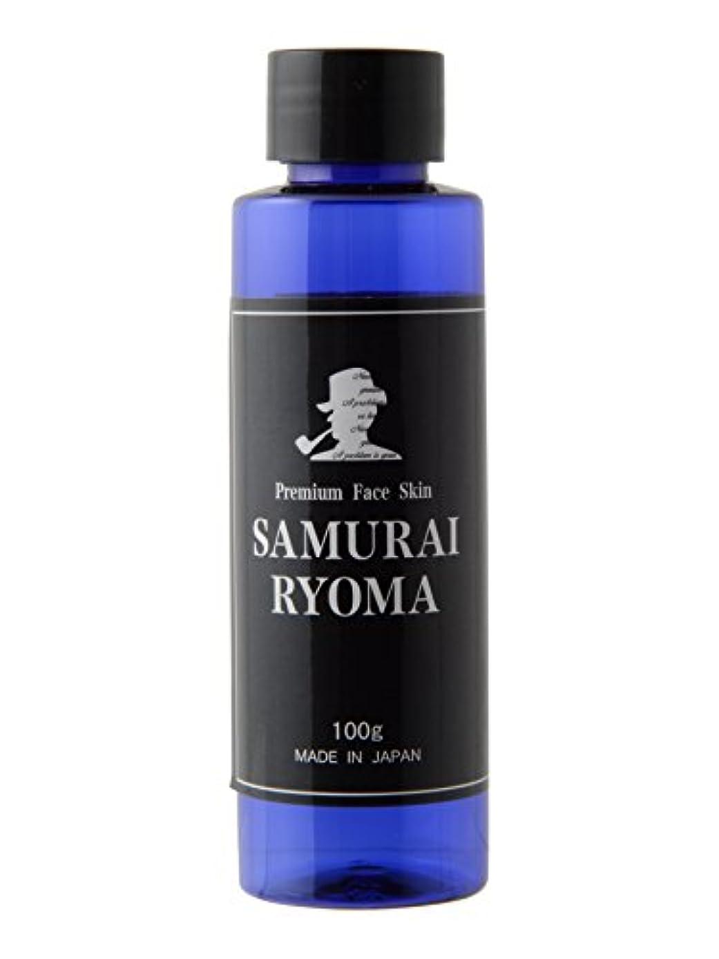 茎素敵なトライアスリートサムライ リョウマ (SAMURAI RYOMA) オールインワン 化粧水 & アフターシェーブローション メンズ スキンケア 男性 用