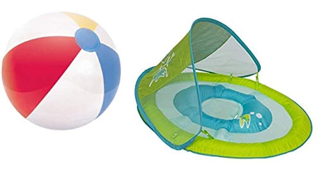 国旗値戦争DdGoods スプリングフロートアクティビティセンター キャノピースタイル タコ 20インチ光沢パネルビーチボール