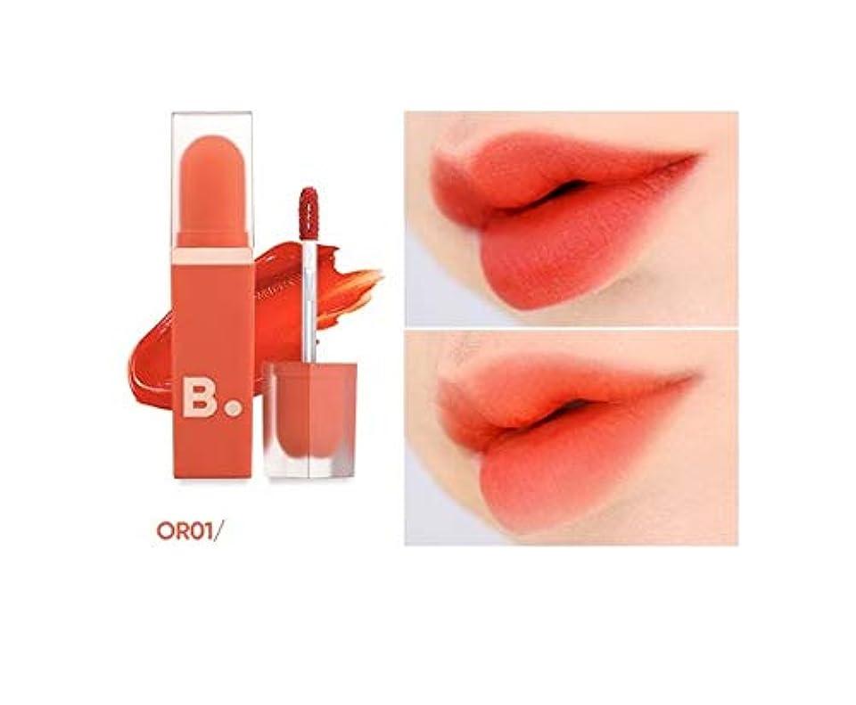 蓄積するまた明日ね注入banilaco ベルベットブラーリップOR01オレンジショットフィルター / Velvet Blurred Lip OR01 orange shot filter [並行輸入品]