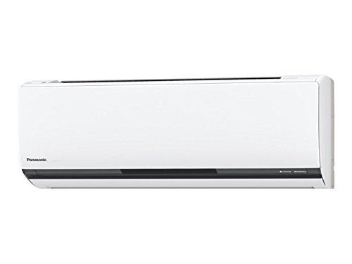 パナソニック 【エアコン】ECONAVI(エコナビ)&ナノイー&エネチャージ&お掃除ロボットPanasonic おもに18畳用(電源200V・クリスタルホワイト色) CS-563CXR2