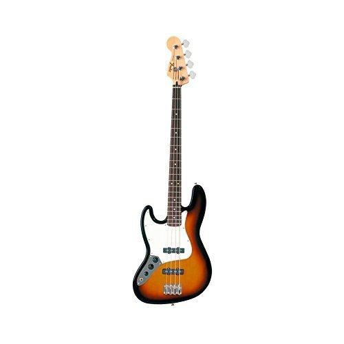 Fender Standard Jazz Electric Bass Guitar - Left Handed - Pau Ferro Fingerboard Brown Sunburst [並行輸入品]