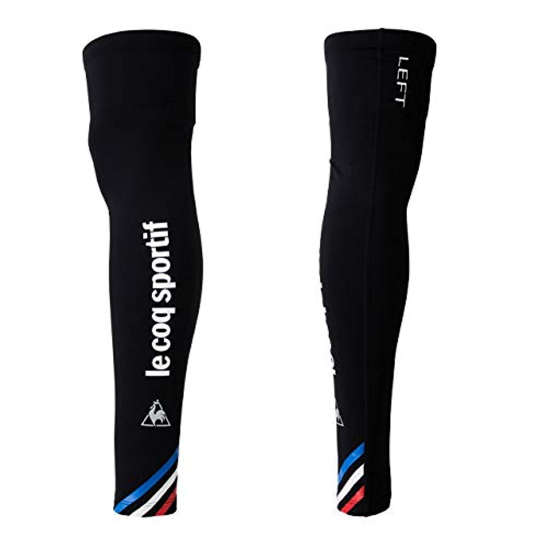 ◎18FW ルコック(le coq sportif) レッグカバー Leg Cover ユニセックス QCAMGX02-BLK