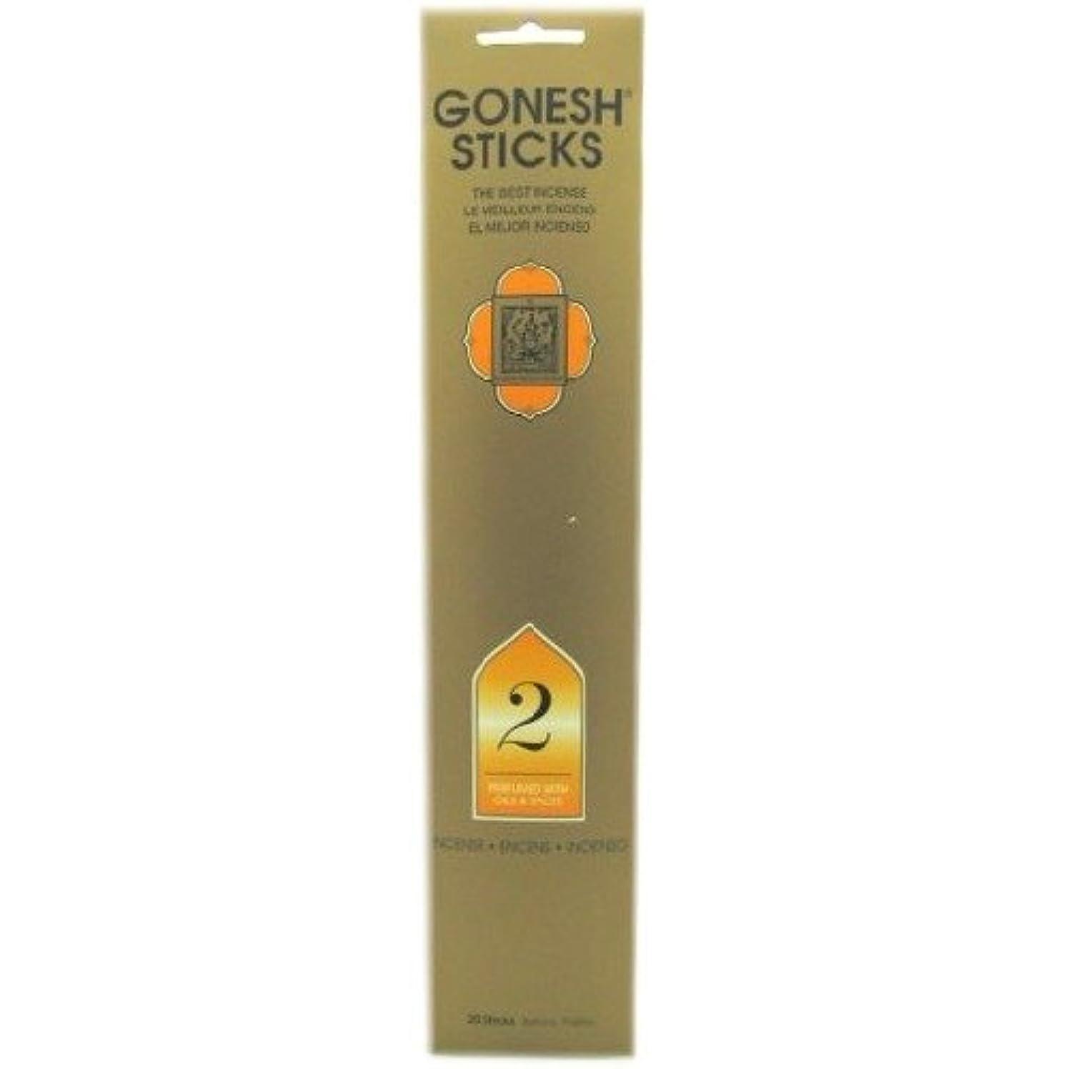 どちらも中で有効化ガーネッシュ インセンス スティック No.2 OILS&SPICES(20本入) 癒し用品 お香 お香 タイプ別 [並行輸入品] k1-78612201023-ak
