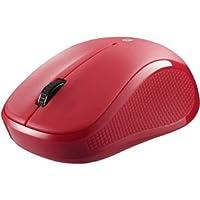 バッファロー(サプライ) Bluetooth3.0対応 IR LED光学式マウス 3ボタンタイプ レッド BSMRB050RD ds-1945359