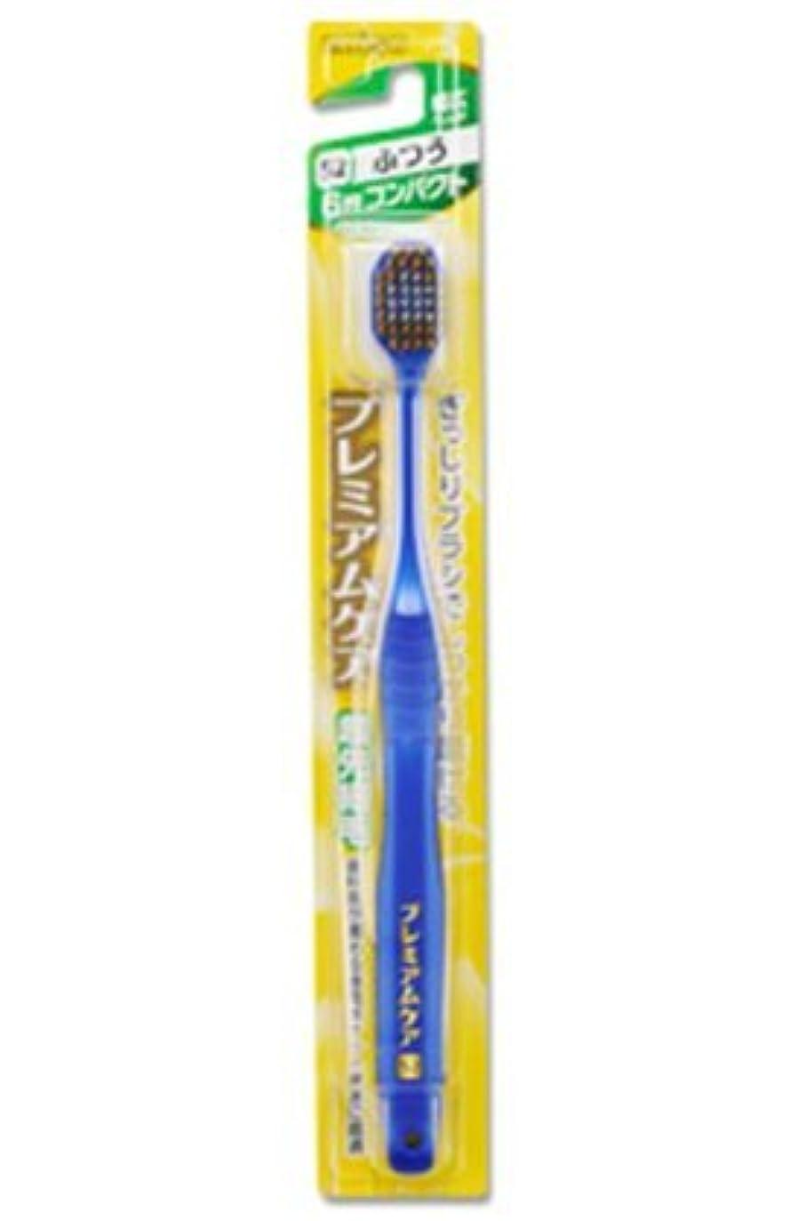 ごめんなさい大一掃するエビス 歯ブラシ プレミアムケア 6列コンパクト ふつう12本セット