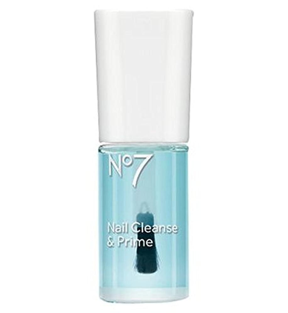 買うアナウンサーバンガロー[No7] No7の爪の浄化とプライム10ミリリットル - No7 Nail Cleanse And Prime 10ml [並行輸入品]
