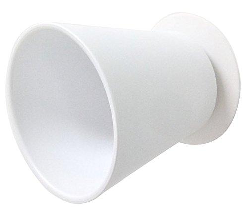 RoomClip商品情報 - 三栄水栓 歯磨きコップ マグネットコップ ホワイト PW6810-W4