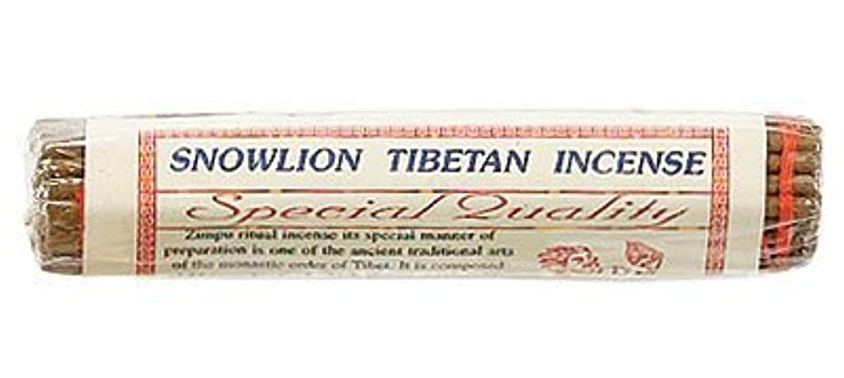 教育頭悲観的Snowlion Tibetan Incense - Zimpu Ritual Incense with Saffron - 45 Stick Bundle [並行輸入品]